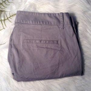 J.Crew Frankie Khaki Pants Size 12